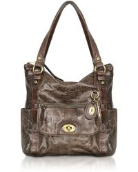 Fossil - Heritage - Leather Tote - Lyst