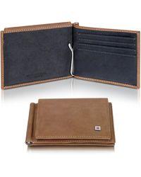 Giorgio Fedon - Leather Card Holder Billfold - Lyst