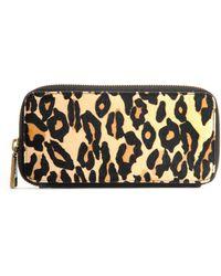 Hobo International - Lucy Leopard-Print Wallet - Lyst