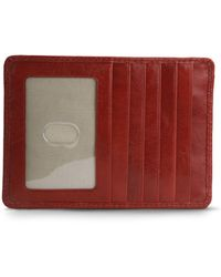 Hobo International Leather Credit Card Wallet - Lyst