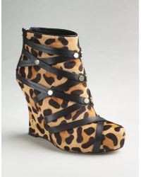 House Of Harlow 1960 Ava Wedge Booties - Lyst