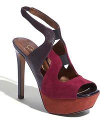 Jessica Simpson Bendie Platform Sandal - Lyst