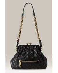 Marc Jacobs Little Stam Quilted Frame Shoulder Bag - Lyst