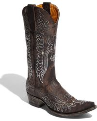 Old Gringo 'Eagle Swarovski' Boot brown - Lyst