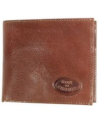 Robe Di Firenze - Compact Leather Billfold Wallet - Lyst
