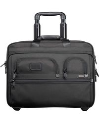 Tumi 'Alpha' Deluxe Wheeled Briefcase With Laptop Case - Lyst