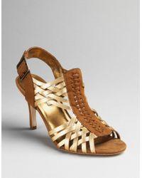 Twelfth Street Cynthia Vincent Ramsay Strappy Sandals - Lyst