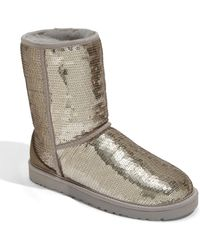 Ugg Classic Sparkles Boot (women) - Lyst