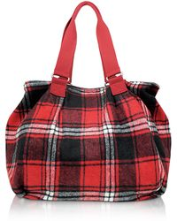 Bensimon - Team Wool - Checked Tote - Lyst