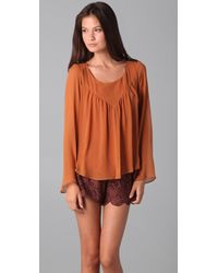 The Addison Story - Bell Sleeve Top - Lyst