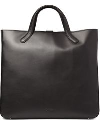 Bill Amberg - Suedelined Leather Tote Bag - Lyst