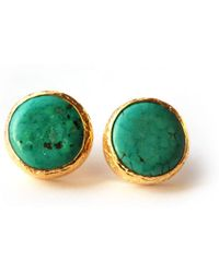 Toosis Turquoise Stud Earrings - Lyst