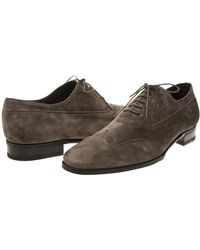 Lidfort | Suede Oxford Shoes | Lyst