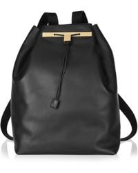 The Row - Leather Backpack - Lyst