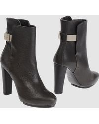 Balenciaga Ankle Boots - Lyst