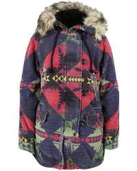 Denim & Supply Ralph Lauren - Navajo Print Snorkel Canyon Coat - Lyst