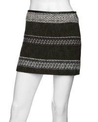 Edun - A Line Mini Skirt - Lyst