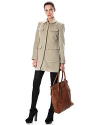 French Connection - Alice Wool Coat - Lyst