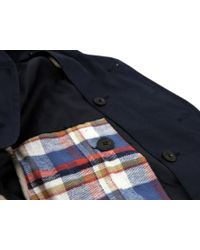 Natural Selection - Guardian Navy Peacoat - Lyst