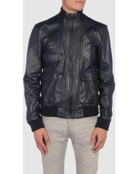 Gianfranco Ferré - Gf Ferre - Leather Outerwear - Lyst