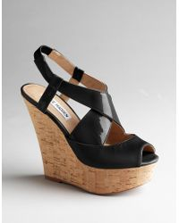 Steve Madden Wheatley Platform Wedge Sandals - Lyst