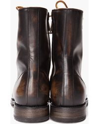 DSquared² - Ankle Police Boots - Lyst