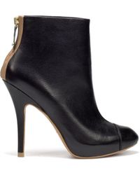 Zara Ankle Boot with Zip - Lyst