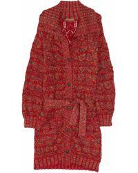 Duro Olowu - Open-knit Wool-blend Cardigan - Lyst