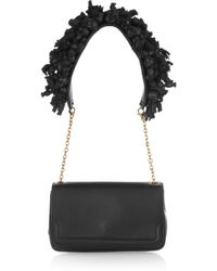 Christian Louboutin Artemis Embellished Leather Shoulder Bag - Lyst