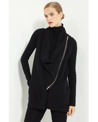 Donna Karan New York Collection Boiled Cashmere Vest - Lyst