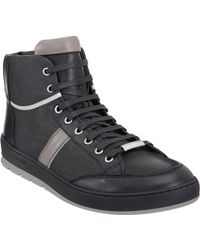 Dior Homme High-top Sneaker - Lyst