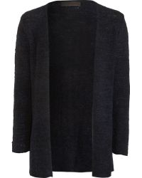 The Elder Statesman Twisted Simple Cardigan - Lyst