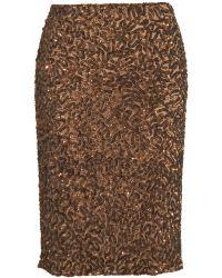 Vince - Sequin Pencil Skirt - Lyst