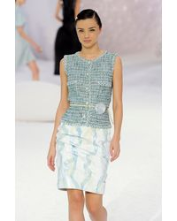 Chanel Spring 2012 Runway Look 72 - Lyst