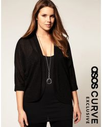 ASOS Collection Asos Curve Exclusive Knitted Kimono - Lyst