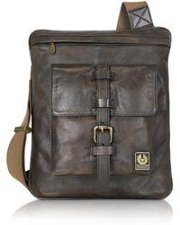 Belstaff - New Speed - Leather Crossbody Bag - Lyst