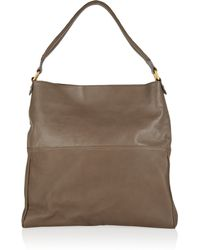 Vionnet Brown Leather Tote - Lyst