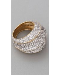 Noir Jewelry Circle Ring - Lyst