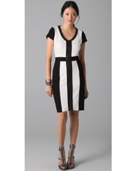 Rachel Roy Colorblock Dress - Lyst