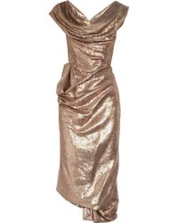 Vivienne Westwood Gold Label Paillette-embellished Corset Dress - Lyst