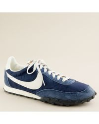 J.Crew Unisex Nike® Vintage Collection Waffle® Racer Sneakers - Lyst