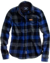 Madewell Penfield Chatham Buffalo Plaid Flannel - Lyst