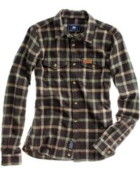 Madewell Penfield Kuffman Plaid Flannel - Lyst