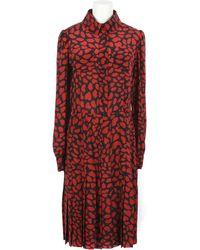 Ysl Edition 24 Silk Pleated Dress-shirt - Lyst