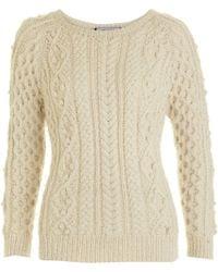 Isabel Marant Knit Sweater - Lyst