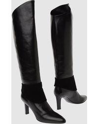 Helmut Lang High Heeled Boots - Lyst