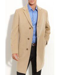 John W. Nordstrom® Grant Wool & Cashmere Topcoat - Lyst