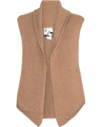 Barneys New York B Cashmere Vest - Lyst