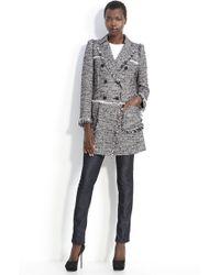 Mcginn Tweed Coat - Lyst
