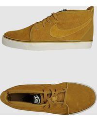 Nike Hightop Sneaker - Lyst